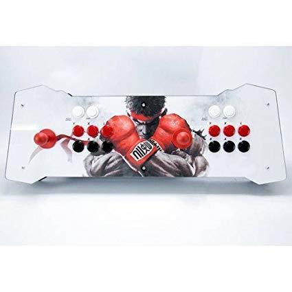 Fliperama Arcade Duplo Portátil Ventura Games - Ryu c/ 7.200 Jogos