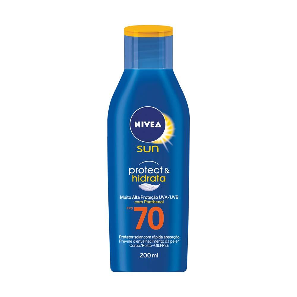 Protetor Solar Nivea Protect e Hidrata Fps70 200ml, Nivea