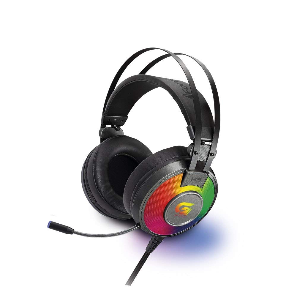 Oferta ➤ Headset Gamer Rgb G Pro H3, Fortrek, Microfones e Fones de Ouvido, Cinza   . Veja essa promoção