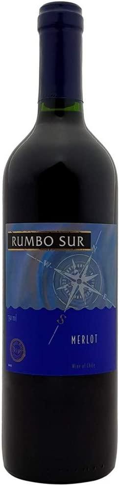 Vinho Tinto Rumbo Sur Merlot750 ml Rumbo Sur Merlot, Rubi Intenso
