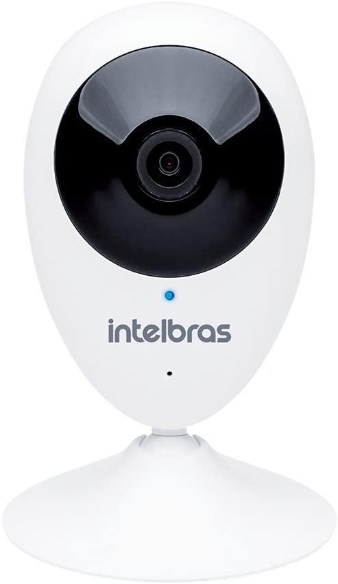 Câmera de Segurança com WiFi HD Intelbras IC3 Branca
