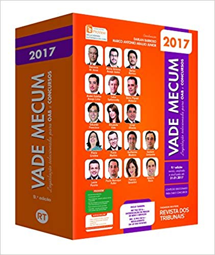 Vade Mecum OAB 2017 - Legislação Selecionada Para OAB e Concursos