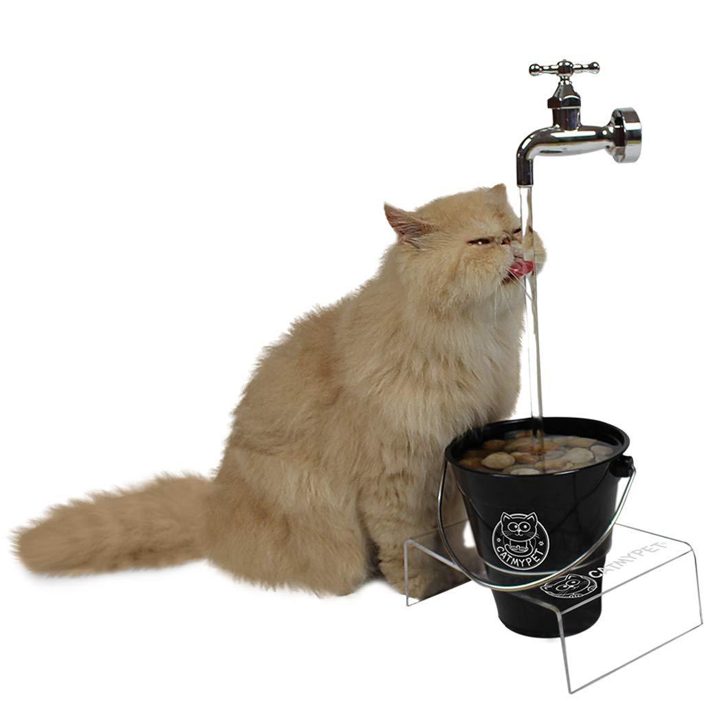 Bebedouro para Gatos, Magicat Black com Suporte 220V Catmypet para Gatos