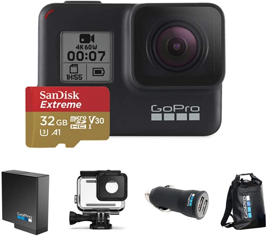 Kit Especial Go Pro Câmera Hero 7 Black + Acessórios