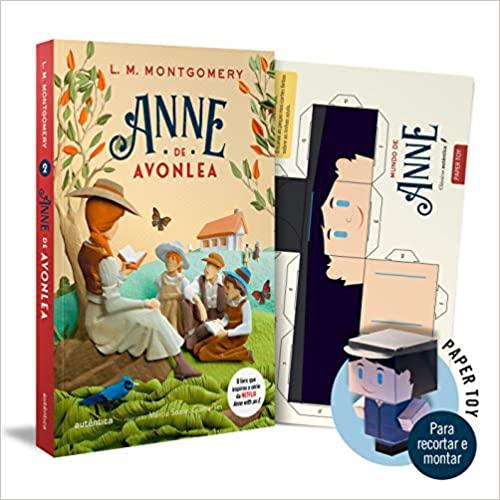 Livro Anne De Avonlea + Paper-toy