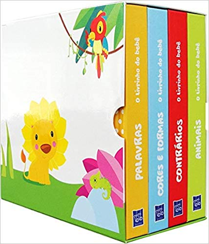 Box O livrinho do bebê: animais/contrários/palavra