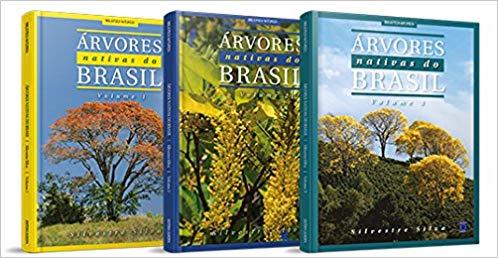 Coleção Árvores Nativas do Brasil - Caixa com 3 Volumes