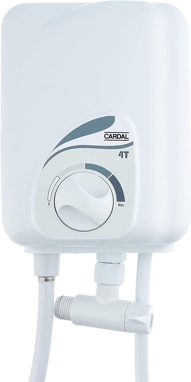 Ducha Com Aquecedor Higiênica 4 Temperaturas Cardal Branco Pequeno