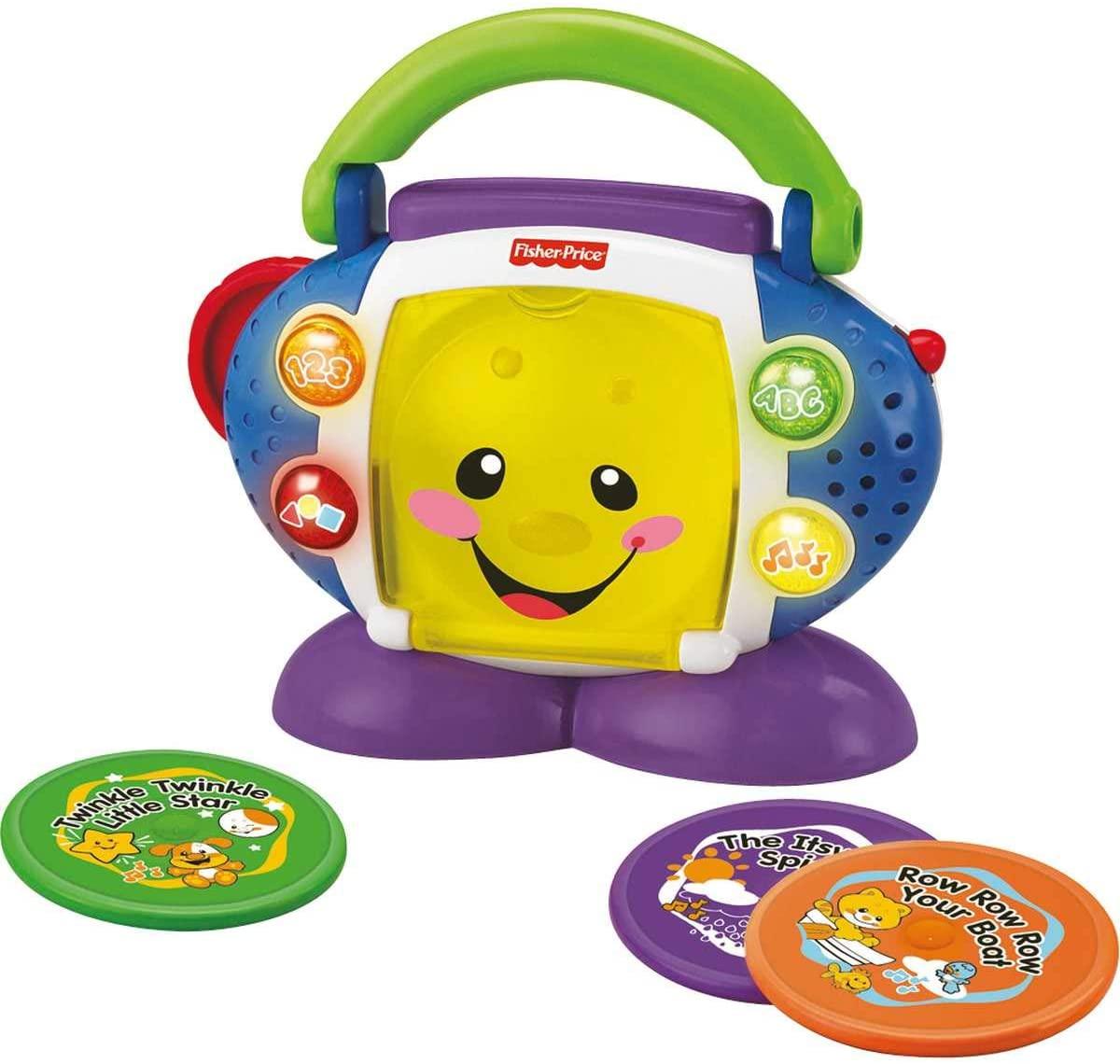 [Exclusivo Prime] Brinquedo CD Player Aprender e Brincar P5314 - Fisher-Price