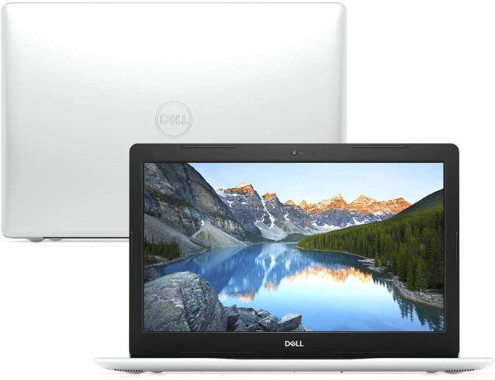 "Notebook Dell Inspiron i15-3584-M10B 7ª Geração Intel Core i3 4GB 1TB 15.6"" Windows 10 McAfee Branco"