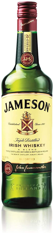 Whisky Irlandês Jameson Standard Garrafa 750ml