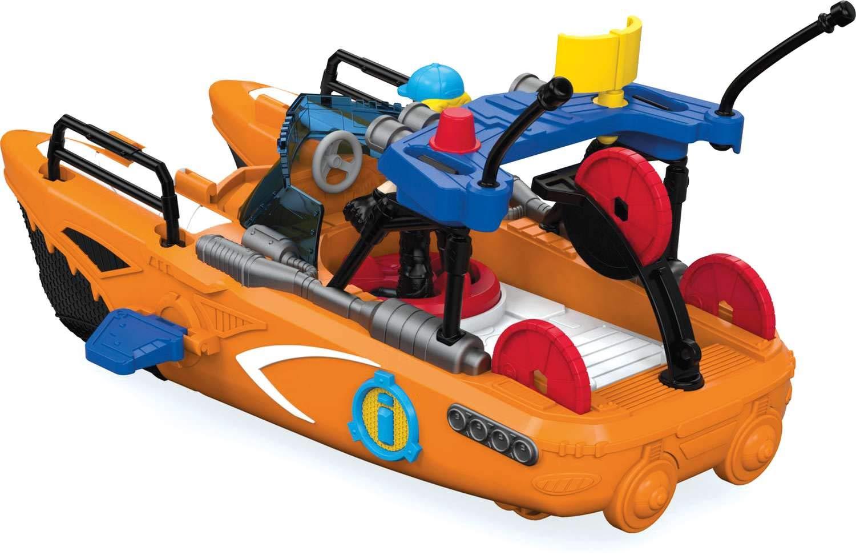 Barco De Resgate Imaginext Mattel Multicor