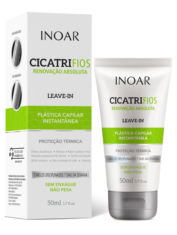 Leave-in Plástica Capilar 50ml, Inoar