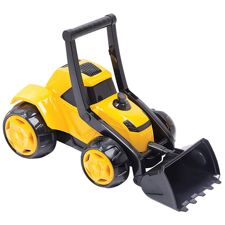 Mini Trator Z3 Bs Toys Amarelo