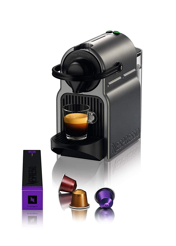 Máquina de Café Inissia Titan 110V, Nespresso, Prata