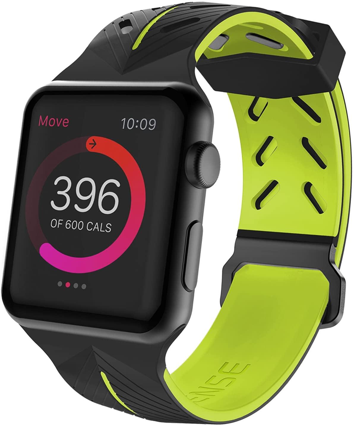Pulseira Apple Watch Action Band Sport Fashion Com Pelicula 3D Tela Inteira Premium, X-Doria