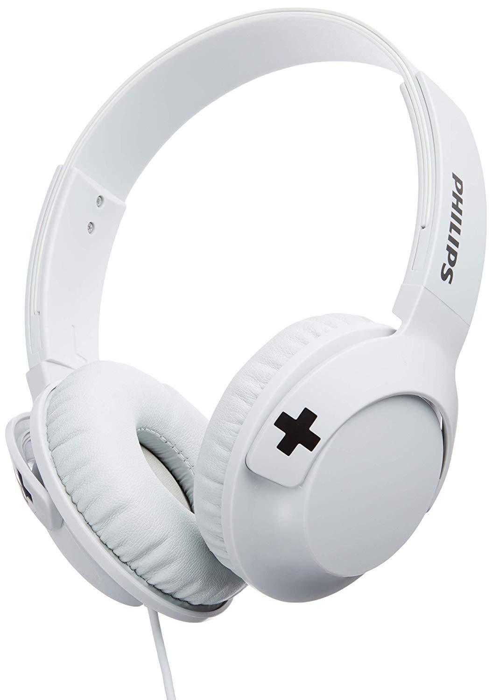Fone de Ouvido Supra Auricular, Philips, SHL3075, Branco