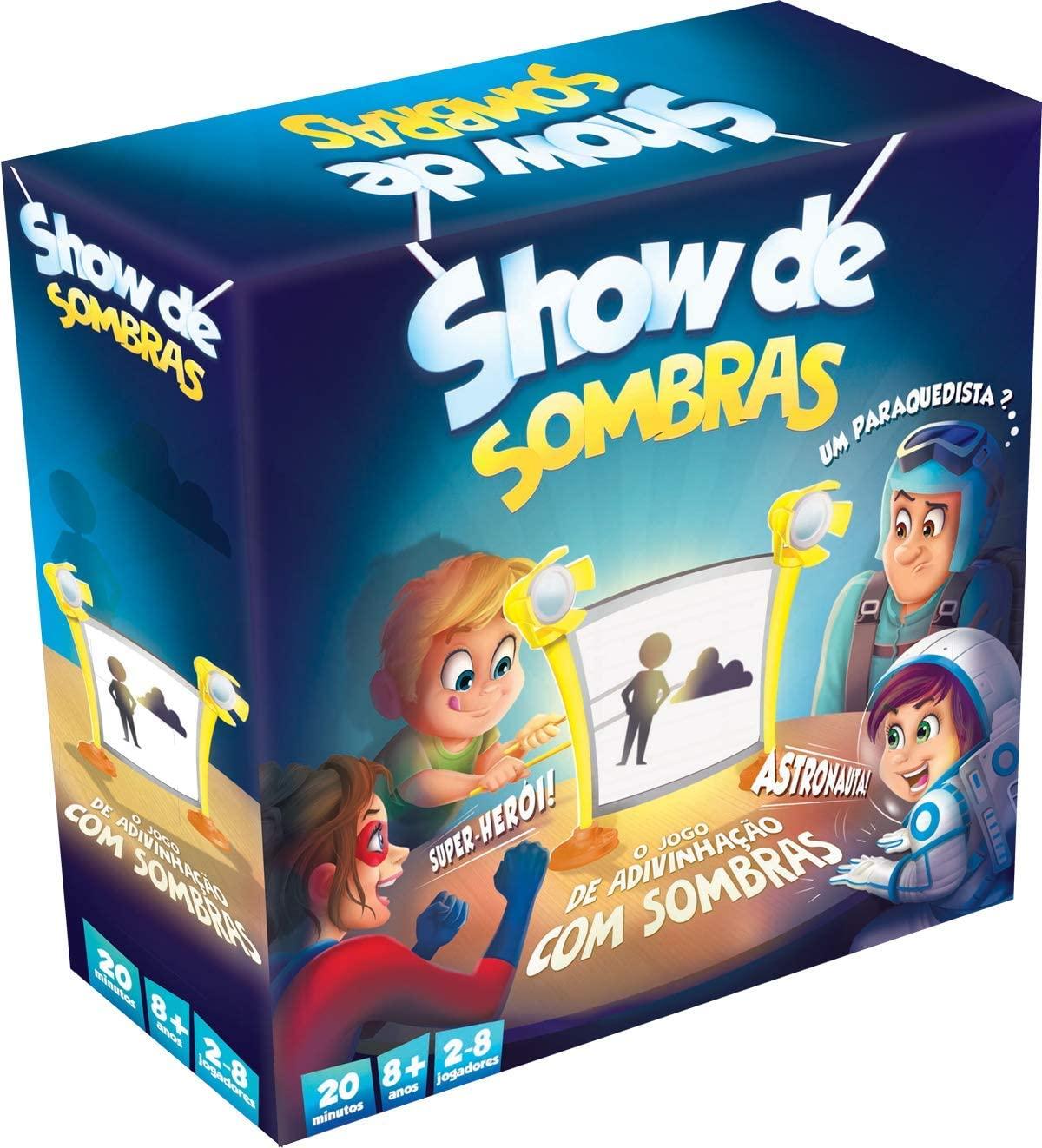 Jogo de Tabuleiro Show de Sombras - Galápagos Jogos