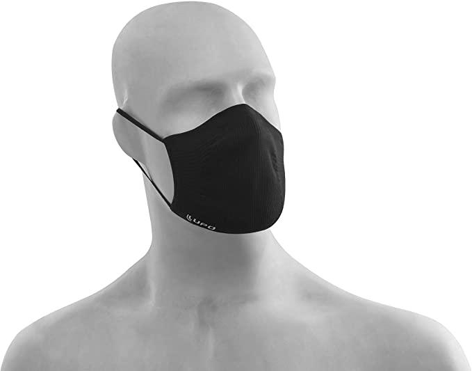 Kit com 2 Máscaras Bac OFF Microfibra Lupo, Preto, U