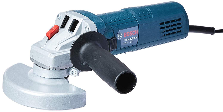 Esmerilhadeira GWS 7-115 127V, Bosch 06013940D0-000, Azul