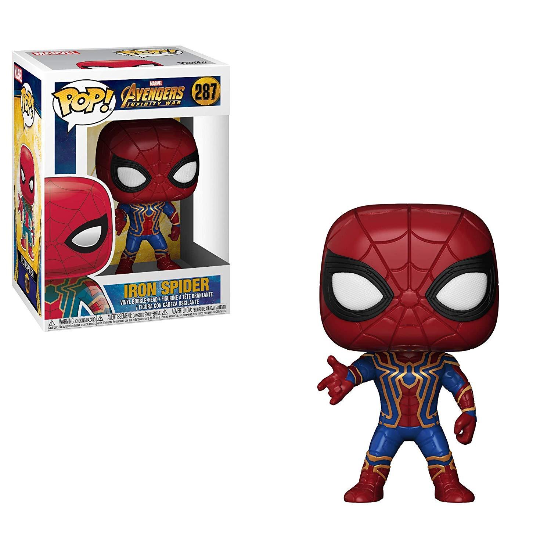 Funko Infinity War Iron Spider Nº 287 Multicor