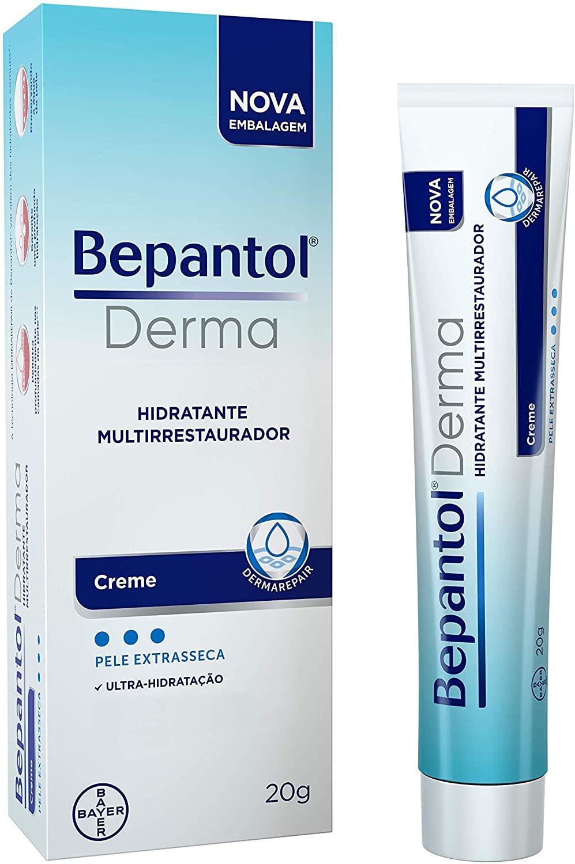 [Exclusivo Prime] Bepantol Derma Creme Hidratante para Pele Extrasseca 20g, Bepantol Derma