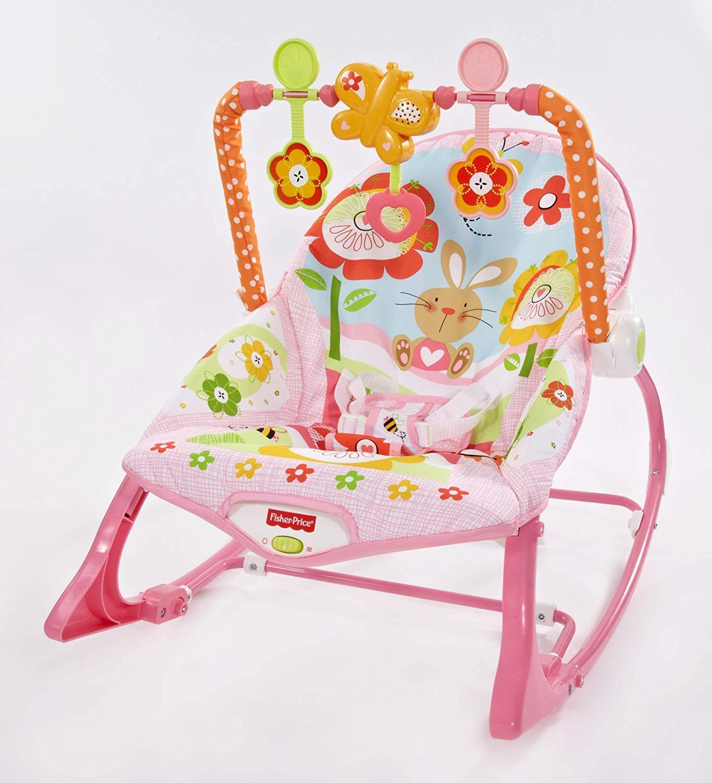 Cadeira Crescendo Comigo Meninas, Fisher Price, Rosa, Mattel
