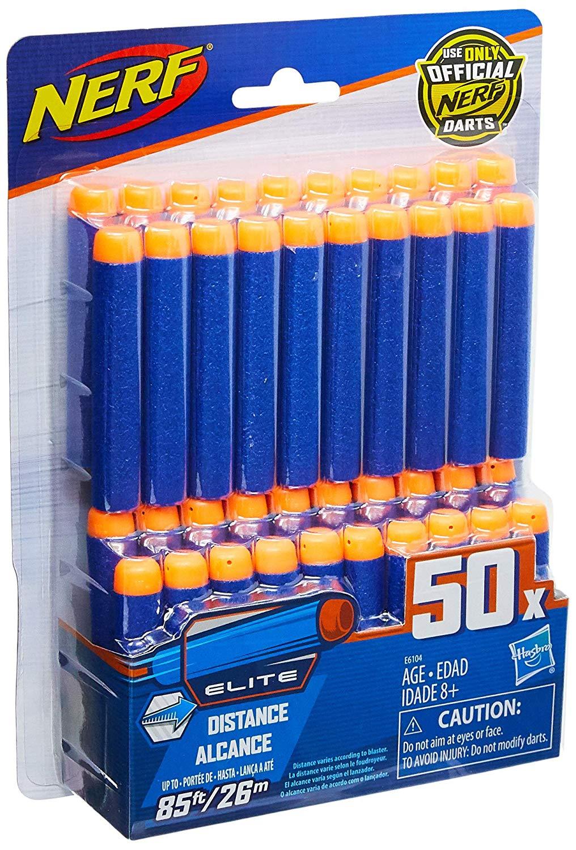 Dardos Nerf E6104 Azul Pack 50