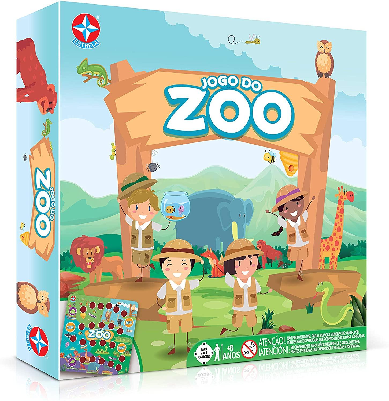 Jogo Do Zoo Brinquedos Estrela Multicores