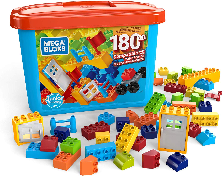 Mini Blocos Mattel 180 Peças Mega Construx