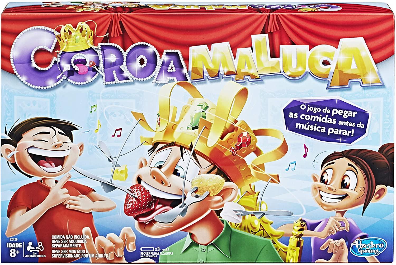 Jogo de Tabuleiro Coroa Maluca - Hasbro Gaming