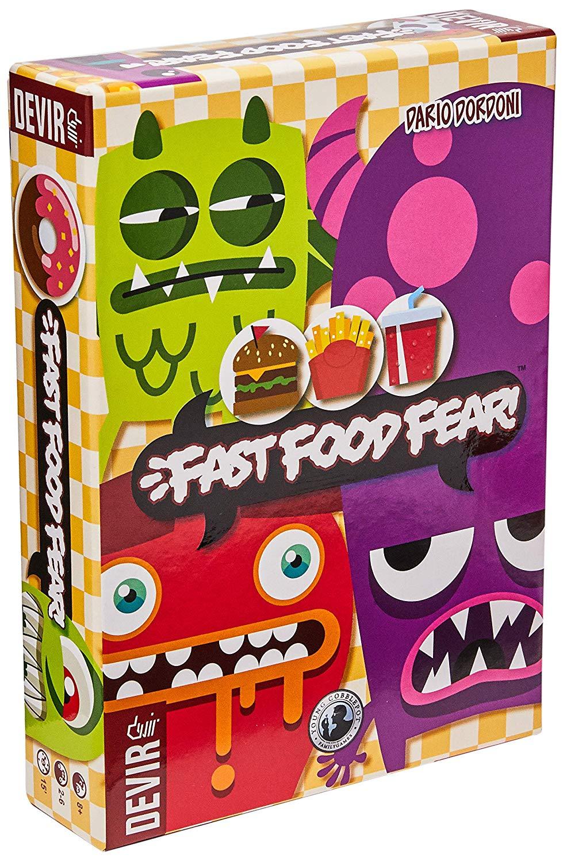 Jogo de Tabuleiro Fast Food Fear - Devir