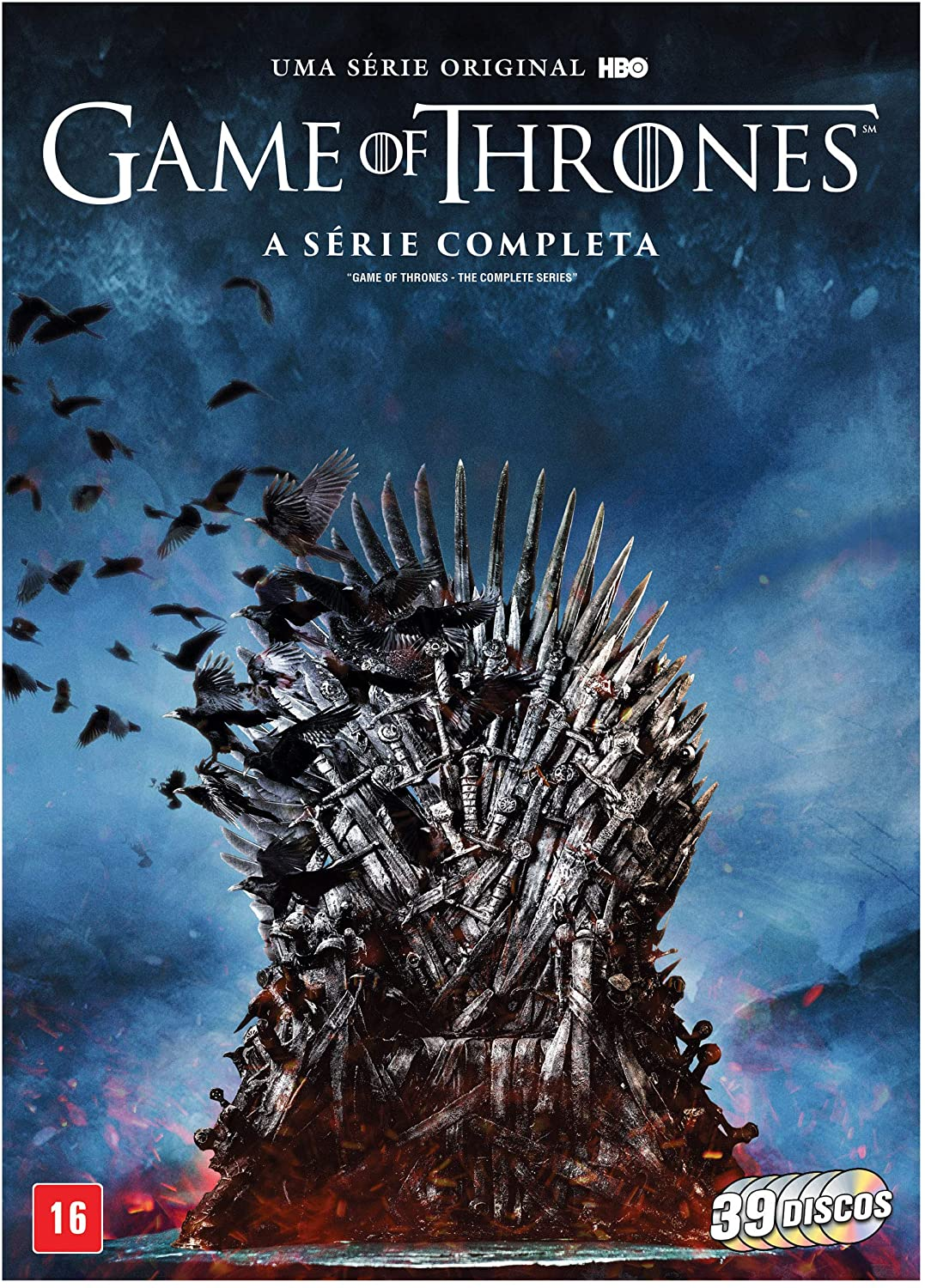 DVD Game of Thrones: A Série Completa - 39 Discos