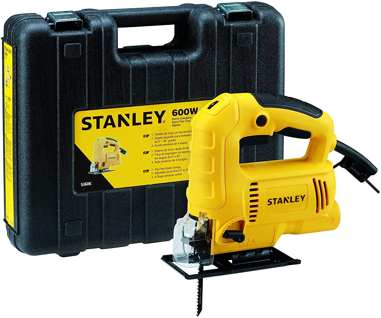 Serra Tico Tico Profissional 600W com Maleta para Transporte, Stanley