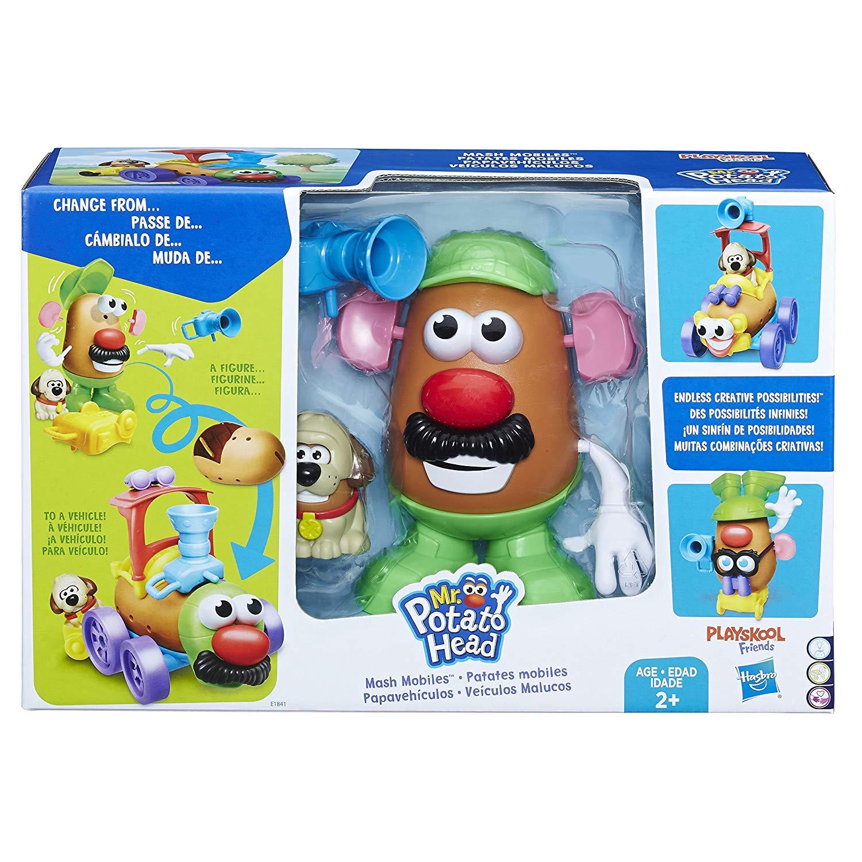 Brinquedo Pré Escolar Mr Potato Head Veiculos Malucos Hasbro