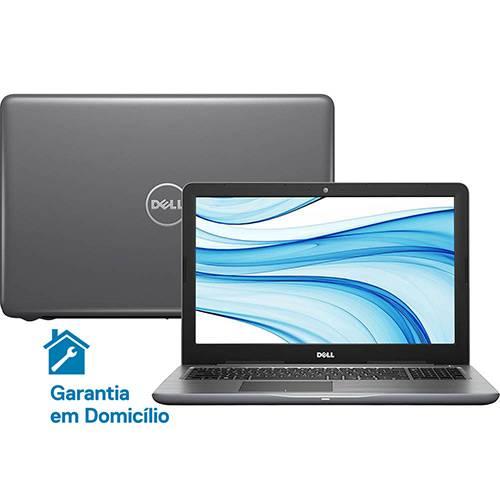 """Notebook Dell Inspiron i15-5567-D30C Intel Core i5 8GB (AMD Radeon R7 M445 de 2GB) 1TB Tela LED 15,6"""" Linux - Cinza"""