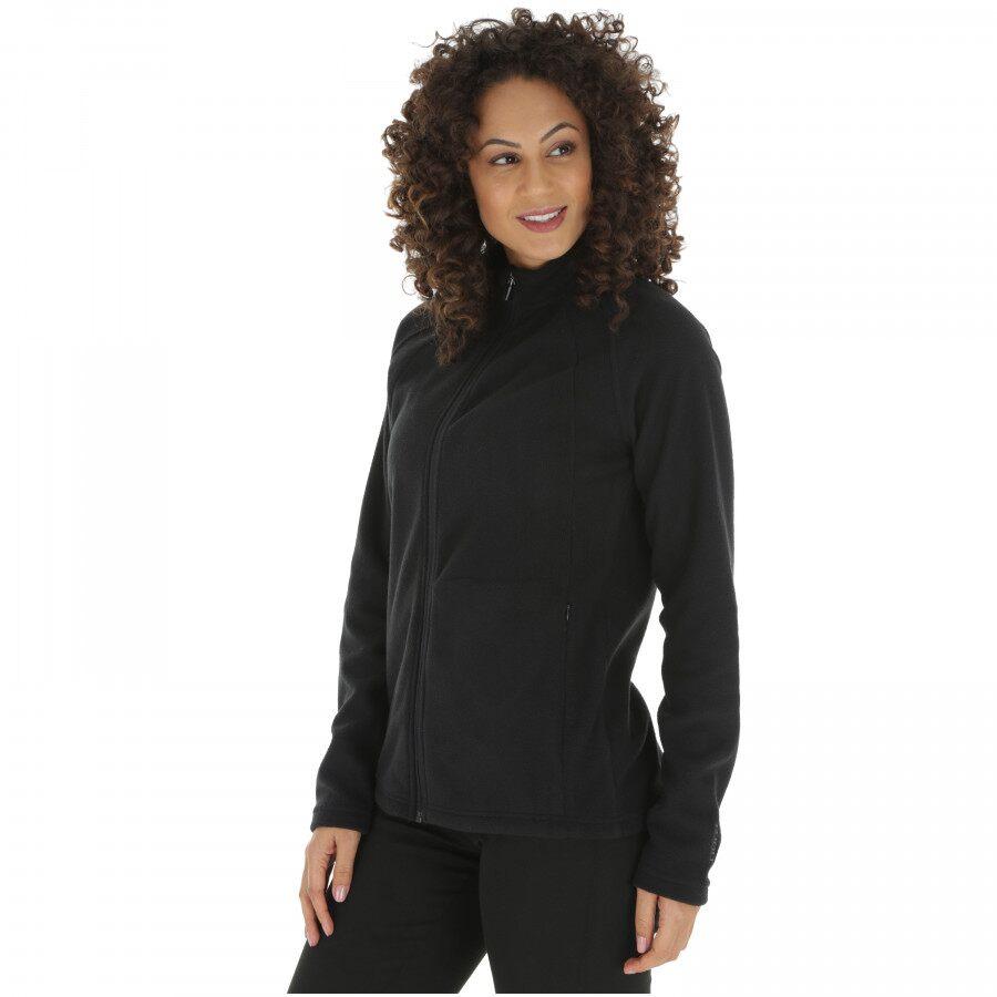[Preta ou roxa] Jaqueta de Frio Fleece Nord Outdoor Basic New - Feminina