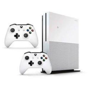 Console Xbox One S 1tb Branco Com 2 Controles
