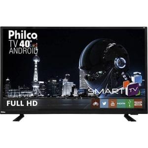"Smart TV LED 40"" Philco Ph40e60dsgwa Full HD com Conversor Digital 2 HDMI 2 USB Wi-Fi"