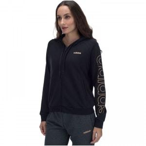 Jaqueta Moletinho com Capuz adidas Ess Brand HD TT - Feminina