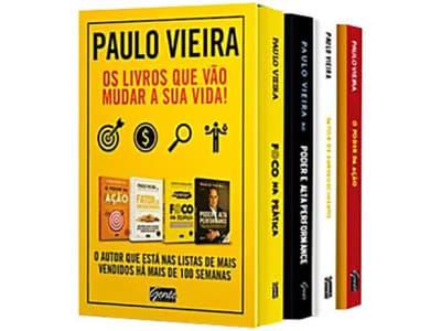 Box Livros Paulo Vieira Vol. 1 - Os Livros Que Vão Mudar a Sua Vida - Magazine Ofertaesperta