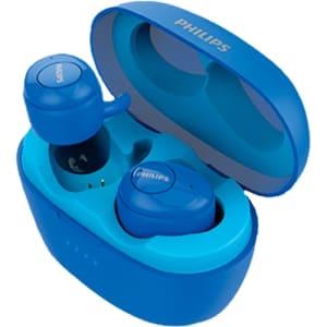 Fone de Ouvido Sem Fio Philips Tws Azul Bluetooth 5.0 Shb2505bl/00 Upbeat In Ear com Microfone - Azul