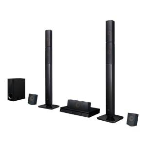 Home Theater LG LHB645N Full HD com Blu-Ray 3D Bluetooth 5.1 Canais Sound Sync Wireless 1000W