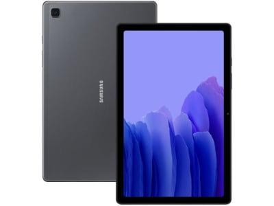 """Tablet Samsung Galaxy Tab A7 10,4"""" Wi-Fi 64GB - Android Octa-Core Câm. 8MP + Selfie 5MP"""