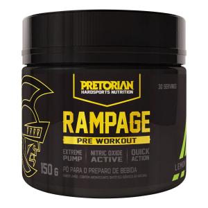 Pré Treino Rampage 150g Exclusivo - Pretorian