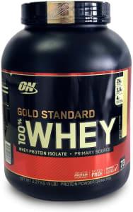 Whey Protein Gold Standard 100% 2,27kg (5 LBS) - Baunilha - Optimum Nutrition