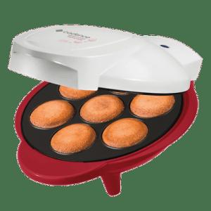 Máquina de Cupcake Cadence Sweet Cake CUP100 Branca/Vermelha