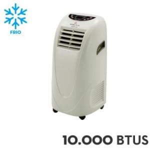 Ar Condicionado Portátil Schulz 10.000 BTUs Frio Branco - Home Plus