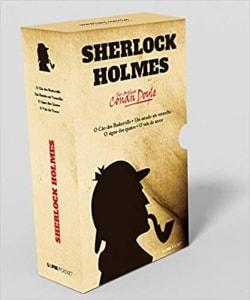 Livro - Box Caixa Especial Sherlock Holmes - 4 Volumes Pocket