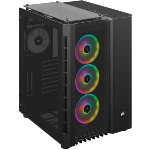 Gabinete Gamer Corsair Crystal Series 680X RGB Preto - CC-9011168-WW